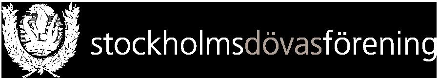 Stockholms Dövas Förening Logotyp